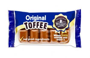 Walkers Nonsuch Original Toffee Bar Slab 100g